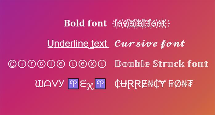 8 font for social