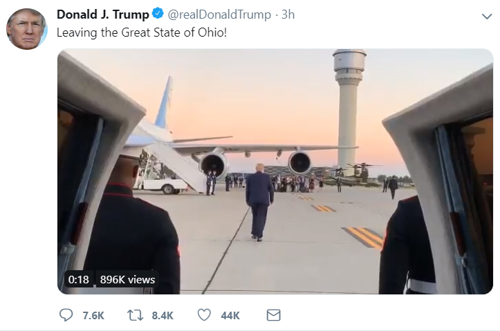 Fake trump tweet generator