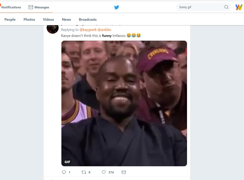 kanye west fake tweet