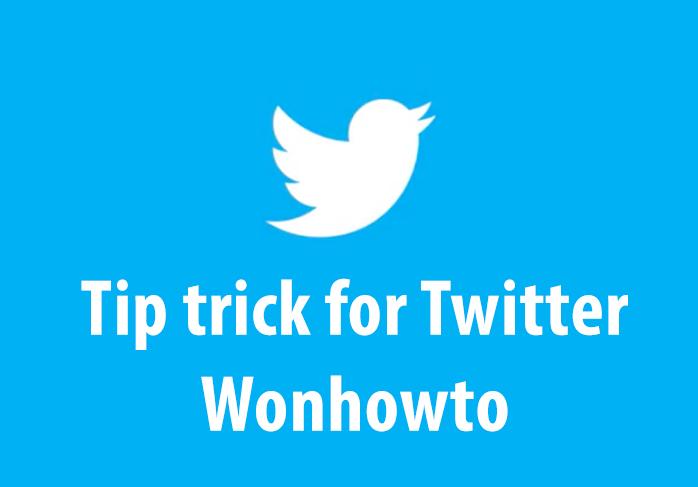 Tip trick twitter