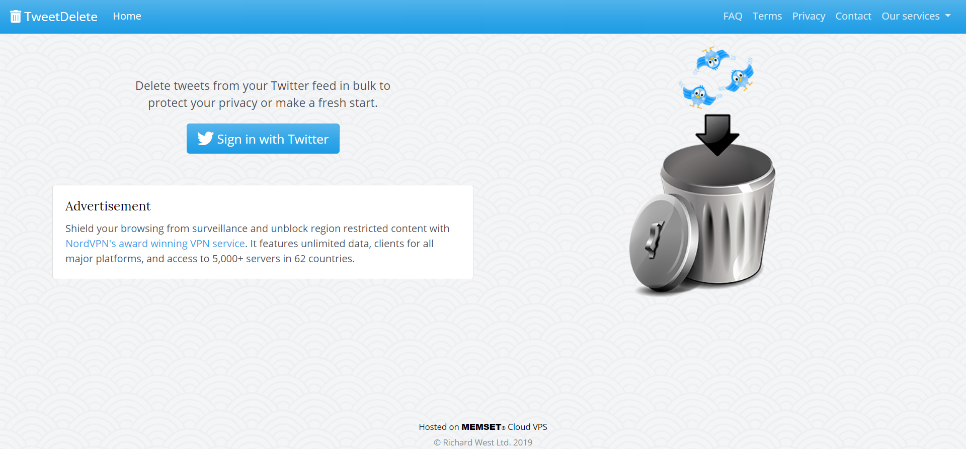 Delete tweets from your Twitter feed in bulk to protect your privacy or make a fresh start.