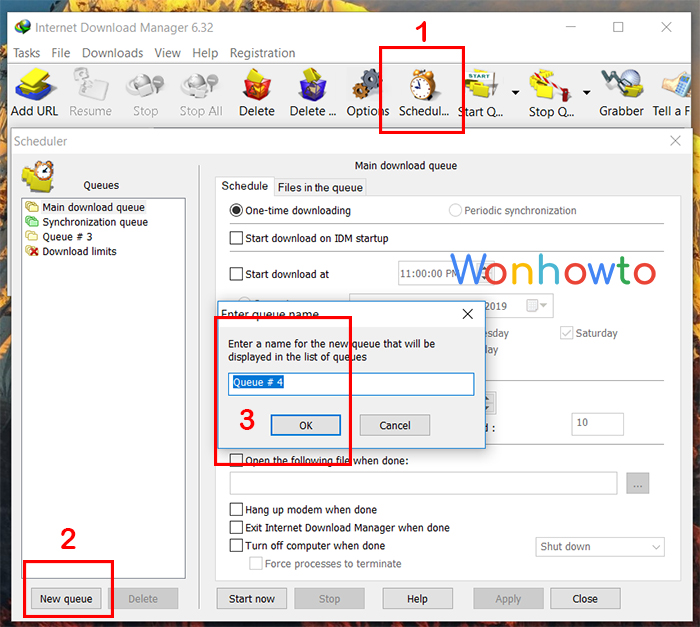 Wonhowto shutdown windows timer