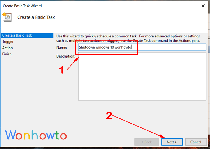 wonhowto task scheduler in windows