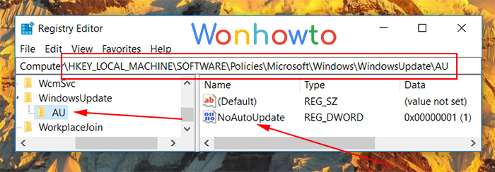 Block Windows 10 updates according to instructions from Microsoft